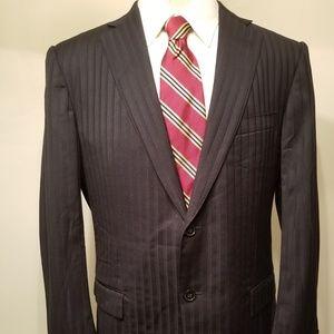Ermengeldo Zegna Mens Blazer Suit Jacket Coat 46R